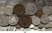 Österreich - Ungarn,Österreich L O T S     L O T S     L O T SLOT von 108 Münzen.  Darunter 15 Kreuzer 1807 B(vz); Gedenk Doppelgulden 1879(Hksp.); 5 Kronen 1900, 1908, 1909(2); 50 Groschen 1934