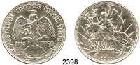 AUSLÄNDISCHE MÜNZEN,Mexiko Republik seit 18671 Peso 1911.  100. Jahrestag des Mexikanischen Unabhängigkeitskrieges