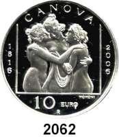 AUSLÄNDISCHE MÜNZEN,E U R O  -  P R Ä G U N G E N San Marino5 Euro 2005