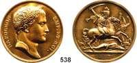 M E D A I L L E N,Napoleon und seine Zeit Bronzemedaille 1812 (Andrieu / Jeuffroy / Denon, Neuprägung 1969, Randpunze BRONZE).  Schlacht an der Moskva. 41 mm.  38,75 g.
