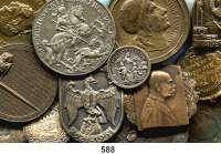 M E D A I L L E N,L O T S     L O T S     L O T S LOT von 58 Medaillen.  Österreich / Ungarn.  19 bis 57 mm.
