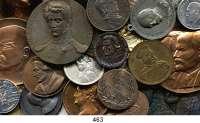 M E D A I L L E N,Personen LOT von über 100 Medaillen.  Abbildung meist Kopf bzw. Brustbild.  18 bis 75 mm.