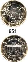 B U N D E S R E P U B L I K,Verprägungen und Kuriositäten 50 Cent 2002 A.  Jaeger 487.  Bi-Metall (1 EURO-Schrötling).  Schrötlingsverwechslung.  Grober Riffelrand (wie 50 Centstück).  7,18 Gramm.