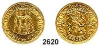 AUSLÄNDISCHE MÜNZEN,Tschechoslowakei Republik, 1918 - 19392 Dukaten 1923, Kremnitz  (6,88 g fein).  Schön 13.  KM 9.  Fb. 1.  GOLD.