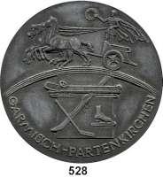 M E D A I L L E N,Olympiade Garmisch-Partenkirchen 1936Zinkmedaille 1936 (Klein, München, spätere Pägung).  Motiv der Olympiasiegermedaille.  80 mm.  195,6 g.