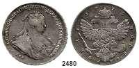 AUSLÄNDISCHE MÜNZEN,Russland Anna 1730 - 1740Rubel 1739 St. Petersburg.  25,84 g.  Bitkin 238.  Dav. 1675.