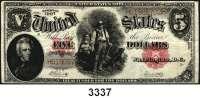 P A P I E R G E L D,AUSLÄNDISCHES  PAPIERGELD U.S.A.2 Dollars 1907.  KN  H...  Pick 186.