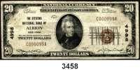 P A P I E R G E L D,AUSLÄNDISCHES  PAPIERGELD U.S.A.20 Dollars 1929.