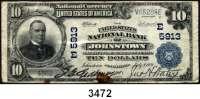 P A P I E R G E L D,AUSLÄNDISCHES  PAPIERGELD U.S.A.10 Dollars 9.7.1921.