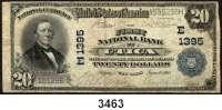 P A P I E R G E L D,AUSLÄNDISCHES  PAPIERGELD U.S.A.20 Dollars 10.6.1905.