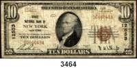 P A P I E R G E L D,AUSLÄNDISCHES  PAPIERGELD U.S.A.10 Dollars 1929.