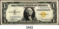 P A P I E R G E L D,AUSLÄNDISCHES  PAPIERGELD U.S.A.1 Dollar 1935 A.