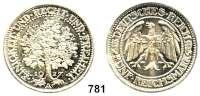 R E I C H S M Ü N Z E N,Weimarer Republik 5 Reichsmark 1927 A.    Eichbaum.