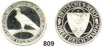 R E I C H S M Ü N Z E N,Weimarer Republik 3 Reichsmark 1930 F.     Rheinlandräumung.