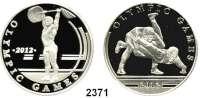 AUSLÄNDISCHE MÜNZEN,Kasachstan 100 Tenge 2010.  Olympische Spiele in London - Ringer und Gewichtheber.  Schön 209 und 210.  KM 248 und 249.  LOT 2 Stück.