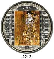 AUSLÄNDISCHE MÜNZEN,Cook Islands 20  Dollars mit aufgeklebten Kristallen 2012.  Meisterwerke der Kunst -