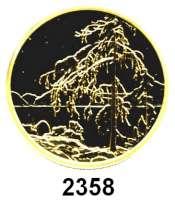 AUSLÄNDISCHE MÜNZEN,Kanada Elisabeth II. 1952 -200 Dollars 2002.  (15,69 g fein).  Gemälde