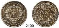 AUSLÄNDISCHE MÜNZEN,Brasilien Johann VI., König von Portugal (1799) 1818 - 1822320 Reis 1820 R, Rio de Janeiro.  9,06 g.  Schön 67.  KM 324.2.