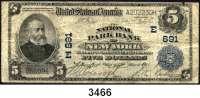 P A P I E R G E L D,AUSLÄNDISCHES  PAPIERGELD U.S.A.5 Dollars 11.3.1905.