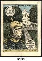P A P I E R G E L D   -   N O T G E L D,Sachsen-Anhalt PareySpar-und Creditbank.  50 Pfennig 1.4.1921-30.6.1921.  Ausgabe A.  G/M 1047.1 a.