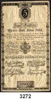 P A P I E R G E L D,AUSLÄNDISCHES  PAPIERGELD Österreich5 Gulden 1.6.1806.  Pick A 38.  K/K 41 a.