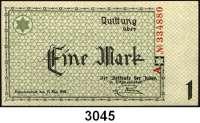 P A P I E R G E L D,L A G E R G E L D Litzmannstadt50 Pfennig, 1 und 20 Mark.  Ros. GET-1, 2 b, 6 c.  LOT 3 Scheine.