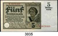 P A P I E R G E L D,R E N T E N B A N K 5 Rentenmark 2.1.1926.  N...  Ros. DEU-209 a.