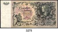 P A P I E R G E L D,AUSLÄNDISCHES  PAPIERGELD Österreich100 Schilling 3.1.1949.  Pick 132.  K/K 233 a.