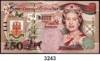 P A P I E R G E L D,AUSLÄNDISCHES  PAPIERGELD Gibraltar50 Pfund 1.12.2006.  Pick 34 a.