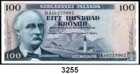 P A P I E R G E L D,AUSLÄNDISCHES  PAPIERGELD Island1 Krona 1941(2);  10 Kronur 1926;  5 Kronur 1957;  10 und 100 Kronur 1961.  Pick 22 a, k, 33 a, 34 b, 44, 48..  LOT 6 Scheine.