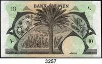 P A P I E R G E L D,AUSLÄNDISCHES  PAPIERGELD Jemen (Demokratische Republik)250 Mils o.D.(1965);  5 Pfund o.D.(1965);  1 und 10 Pfund o.D.(1984).  Pick 1 b, 4 b, 7, 9 b.  LOT 4 Scheine.