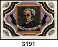 P A P I E R G E L D   -   N O T G E L D,Schlesien BreslauAltershilfe des deutschen Volkes, Provinz Niederschlesien.  1, 2, 5 und 10(Leinen) Mark o.D.(1922)-30.5.1922.  LOT 4 Scheine.