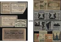 P A P I E R G E L D   -   N O T G E L D,L O T S    L O T S    L O T S Sammlung von 1631 Verkehrs- und (meist) Serienscheinen.  Von ACHIM bis KUDOWA(Bad).  In einem Ordner auf Banknotenseiten.  Dabei etwas Großgeld, einiges an Reutergeld, wenige Scheine Bielefelder Stoffgeld und drei Heller-Scheine(Holzgeld Hadersfeld).