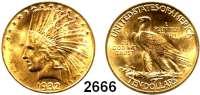 AUSLÄNDISCHE MÜNZEN,U S A 10 Dollars 1932, Philadelphia.  (15,04 g fein).  Schön 141.  KM 130.  Fb. 166. GOLD.