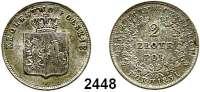 AUSLÄNDISCHE MÜNZEN,Polen Revolution 1830 - 18312 Zlote 1831, Warschau.  Gumowski 2538.  Schön 28.  Cr. 123.