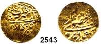 AUSLÄNDISCHE MÜNZEN,Russland Prägungen des Emirats von BukharaTilla 1329.  4,53 g.  GOLD