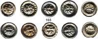 Deutsche Münzen und Medaillen,Braunschweig, Stadt Sammlung von 10 Löwen-Brakteaten.