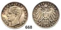 R E I C H S M Ü N Z E N,Bayern, Königreich Otto 1886 - 19132 Mark 1905.