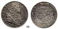 Römisch Deutsches Reich,Haus Habsburg Leopold I. 1657 - 1705Taler 1693, Hall.  28,29 g.  Dav. 3243.  Voglh. 221.  Herinek 636.