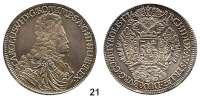 Römisch Deutsches Reich,Haus Habsburg Karl VI. 1711 - 1740Taler 1714, Hall.  28,54 g.  Dav. 1051.  Voglh. 259/II.  Herinek 333.