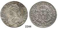 AUSLÄNDISCHE MÜNZEN,Frankreich Ludwig XVI. 1774 - 1793Ecu aux rameaux d´olivier 1784 A, Paris.  29,21 g.  Duplessy 1708.  KM 564.1.