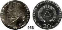 Deutsche Demokratische Republik   PP-Patina !!!!!, 20 Mark 1967       Humboldt    Rand:  20 MARK   20 MARK   20 MARK