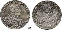 Römisch Deutsches Reich,Haus Habsburg Karl VI. 1711 - 1740Taler 1719, Hall.  28,59 g.  Dav. 1053.  Herinek 338.  Moser-Tursky 842.
