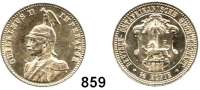 Besetzte Gebiete  -  Kolonien  -  Danzig,Deutsch - Ostafrika 1/2 Rupie 1897.
