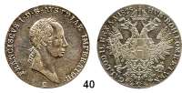 Österreich - Ungarn,Habsburg - Lothringen Franz I. (1792) 1806 - 18351/2 Konventionstaler 1825 C, Prag.  Kahnt 331.  Frühwald 252.  Herinek 445.  Jg. 197.