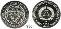 Deutsche Demokratische Republik   PP-Patina !!!!!, 20 Mark 1987       Stadtsiegel