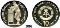 Deutsche Demokratische Republik   PP-Patina !!!!!, 10 Mark 1990       Fichte