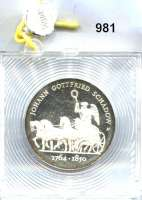 Deutsche Demokratische Republik   PP-Patina !!!!!, 10 Mark 1989       Schadow - Quadriga