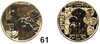 Österreich - Ungarn,Österreich 2. Republik ab 194550 Euro 2014.  (10 g fein).  150. Geburtstag von Klimt