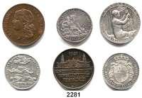 AUSLÄNDISCHE MÜNZEN,Frankreich L O T S     L O T S     L O T SDrei Silberjetons. 1695